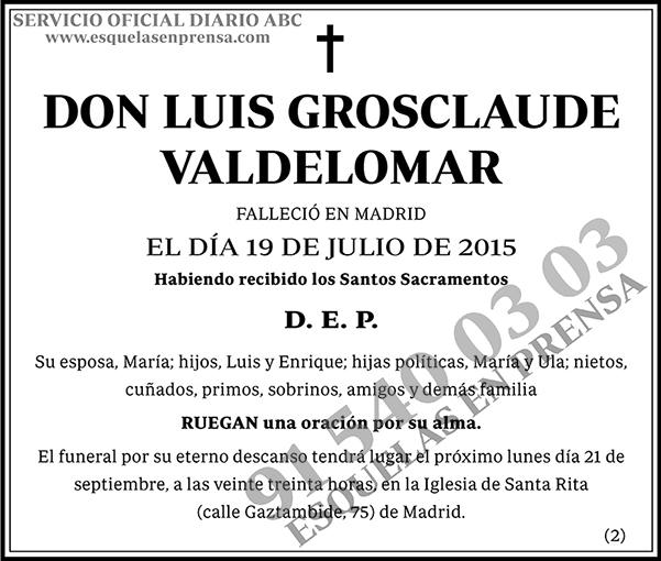 Luis Grosclaude Valdelomar